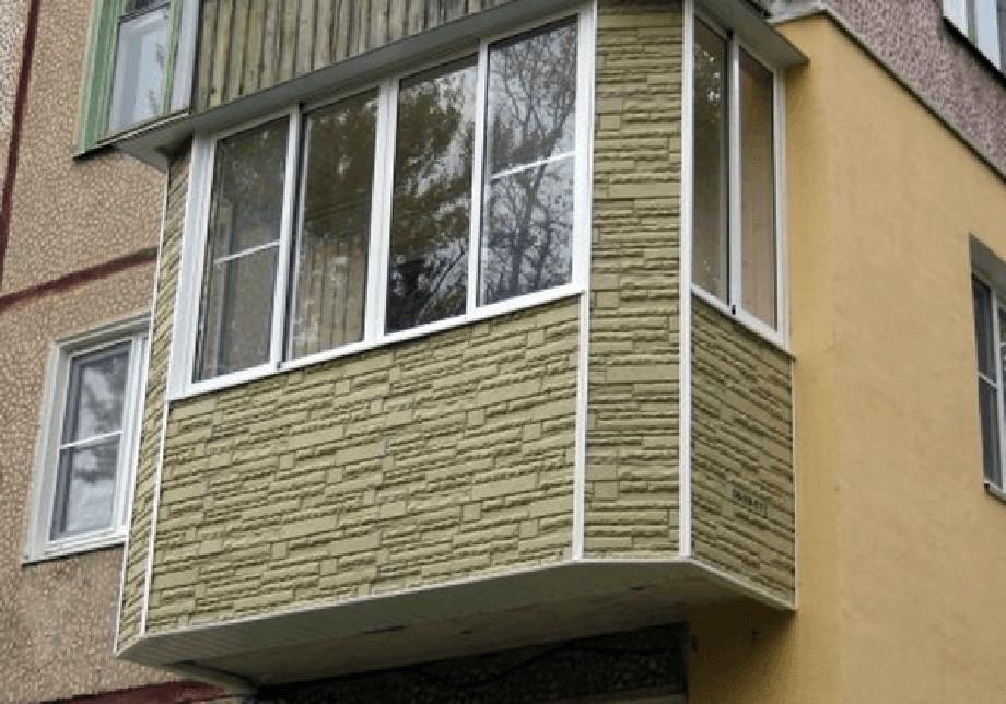 Как сделать наружную обшивку балконов 47